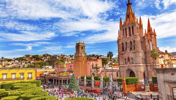 San Miguel de Allende: Considerada una de las ciudades más bonitas de México.