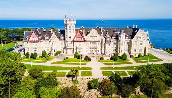 Palacio de Magdalena, Santander España.