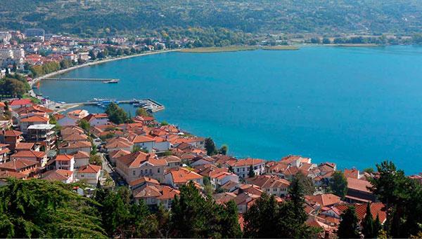 Struga: A orillas del lago Ohrid..