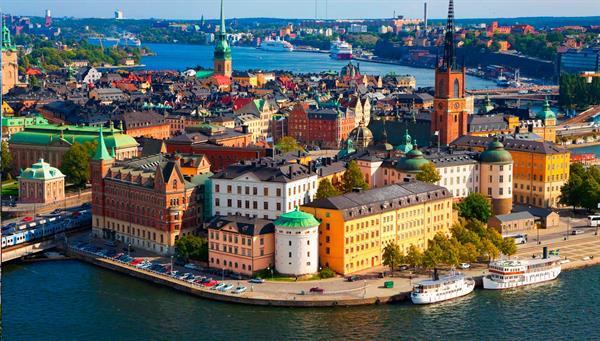 Estocolmo: Ferry Kristiandsand.