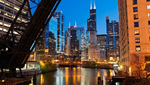 Chicago: Suba a lo más alto de la Torre Willis, antigua Sears a más de 442 metros.