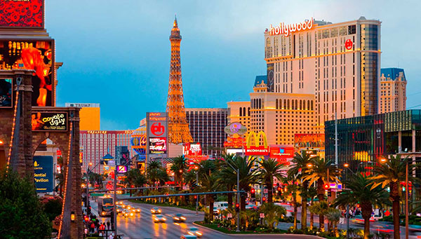Las Vegas: Capital mundial de la diversión.