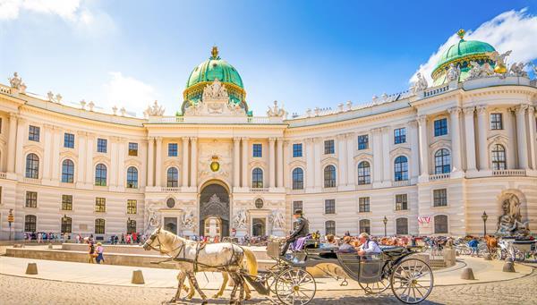 Alte Hofburg de la magnífica capital de Austria, Viena