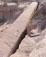 Aswan: Vista cantera obelisco inacabado.