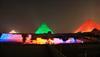 El Cairo: Espectáculo luz y sonido en pirámides GIZA.