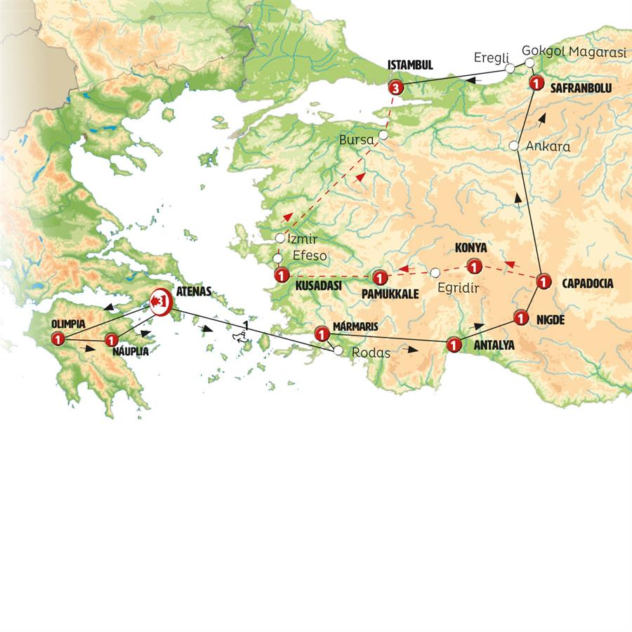 cf9cd15af Grecia e Turquia Surpreendente - CLÁSSICA 2019/2020